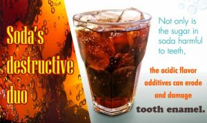 The pictures of tooth decay caused by carbonated beverages are TOO HORRIBLE to post here.